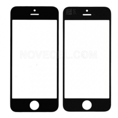Front Screen Outer Glass Lens for iPhone 5C (Black)