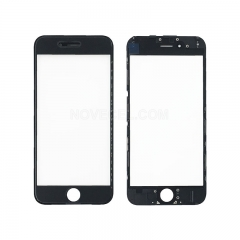(Super High Quality)Front Screen Glass Lens with LCD Digitizer Frame for iPhone 6(4.7 inches) - Black