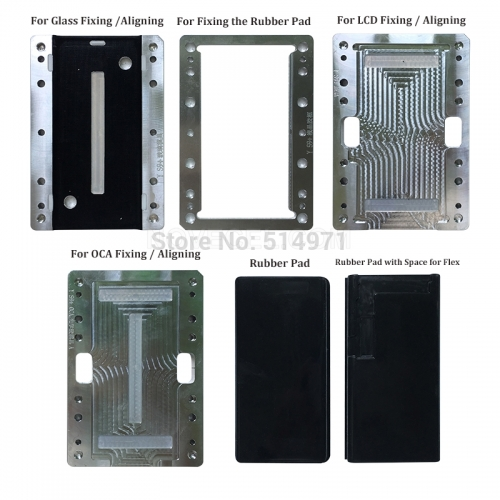 For Samsung S10 S10P S10E Note8 9 S9 S8 + S7edge S6edge S6edge+ Positioning Alignment Laminating molds Compatible for BM Series and Q5 A5 Laminating M